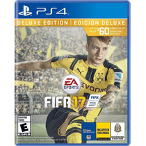 Fifa 17 Diecisiete Playstation 4 Ps4 Deluxe Edition Preventa