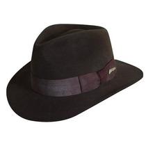 Gorra Indiana Jones Lana Crushable Felt Fedora Sombreros Ij