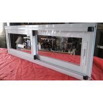 Ventana Modena Blanca 150 X 50 Aluminio Pesado Somos Fabrica