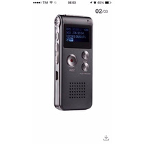 Gravador De Voz Digital 8gb Escuta Telefônica Mp3 Rc609