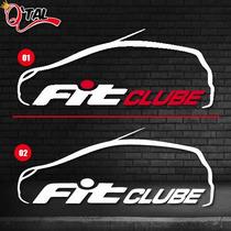 Adesivo Honda Fit Clube