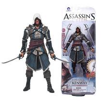 Boneco Assassins Creed 3 Edward Kenwa Lacrado Pronta Entrega