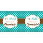 Caneca De Porcelana Te Amo Mais Que Chocolate
