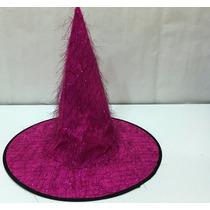 Sombrero Gorro Bruja Halloween Disfraz Carnaval Carioca X 12