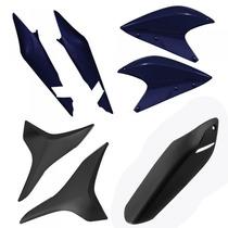 Kit Plástico Carenagem P/ Xre 300 Ano 2012 - Azul Perolizado
