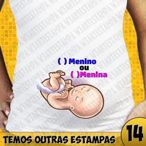 Camisa Gestante Grávida Bebe Espiando Divertidas Baby Look