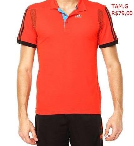 Camisa Polo adidas Masculina Original Promoção Jp Sports - R  79,90 em  Mercado Livre fce518c0d9
