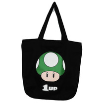 Bolsa De Tecido Super Mario - Toads/1 Up