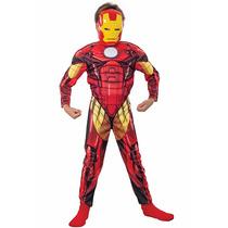 Disfraz Iron Man Con Musculos Original Marvel ¡¡ Oferta ¡¡