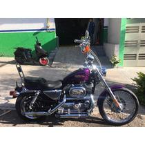 Harley Davidson Sportster 1200 Custom 01 Titulo Limpio Checa