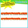 Calcomania Sticker Cruiserheads Rusticos 4x4 (90 Cm)