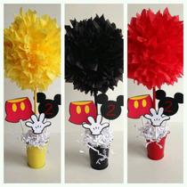 Centro De Mesa Mickey 10 Unidades