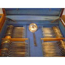Faqueiro De Prata 100 Completo Com 130. Antigo E Sem Uso