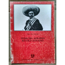Derecho Agrario Revolucionario, Mario Ruiz Massieu, Unam