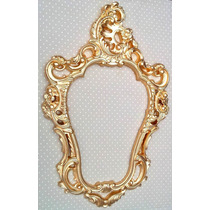 1 Moldura Veneziana Dourada - Pop Decorei