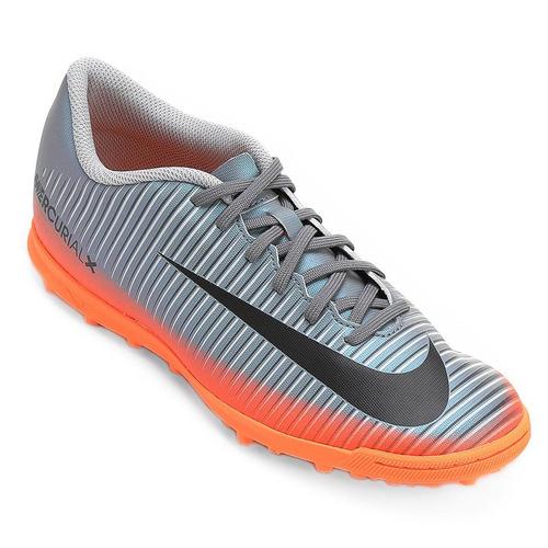 8398198bed777 Chuteira Society Nike Mercurial Vortex Iii Cr 7 Original - R$ 299,90 em  Mercado Livre