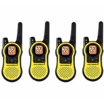 Paquete De 4 Radios Motorola Mh230r 23 Millas Comunicacion