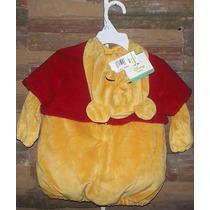 Traje De Winnie The Pooh Para Bebe Disney ( 9-12 Meses )