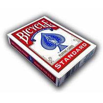 Baraja Bicycle Standar Deck Roja O Azul Para Poker O Magia