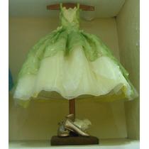 Vestido Tiana,la Princesa Y El Sapo Envi Gratis Talla 12