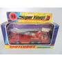 Matchbox Lesney Superkings K-9 Bombeiro Fire Tender Na Caixa
