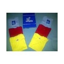 Franelas Ovejita Escolares Rojo Amarillo Azul Y Blanco