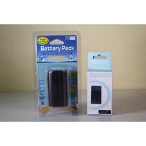 Bateria Np F970 + Carregador P/ Sony Led Cn160 Yn300 Npf970