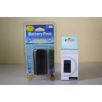 2 Baterias Np F970 + Carregador P/ Sony Led Cn160 Yn300