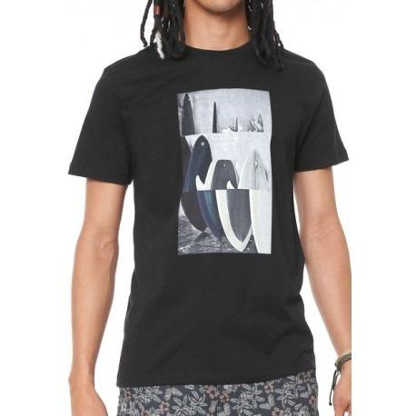 eb4b6d2ff75 Camiseta Quiksilver Board Room 61241612 Preto - R  99
