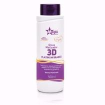 Magic Color Desamarelador - Gloss 3d Platinum Branco 500ml