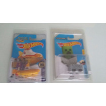 Hot Wheels - Pack The Beatles Yellow Submarine Y Maincart