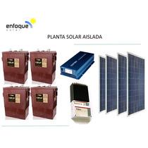 Planta Generador Solar Fotovoltaico 1000w Alta Calidad