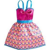 Roupinha Barbie Fashionistas Bolinhas Rosa - Mattel - N4875