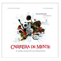 Carrera De Mente Platinum Juego De Mesa Original Sheshbesh