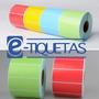 6 Rollos Etiquetas Autoadhesivas Il Color 80x50 X 1000 U