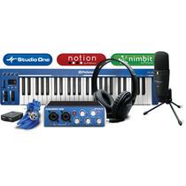 Presonus Kit Audiobox Music Creation Suite Studio Completo