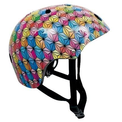 Capacete Sou Luna Vintage Skate Bike Patins Roller - R  92 8cd5f9d72f0