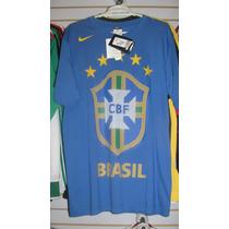 Playera Nike De Brasil Del Mundial 2010 Talla M Envio Gratis