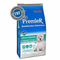 Ração Premier Ambientes Internos Cães Adultos 12 Kg