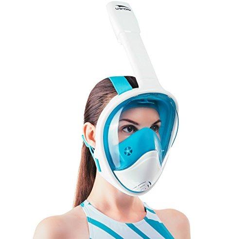 4e9bd858e Máscara De Snorkel De Cara Completa Usnork