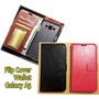 Flip Cover Wallet Samsung Galaxy A5 (negro - Fucsia)
