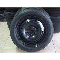 Estepe Fino Ford Focus C/ Pneu 145/80/16 Maxxis Original