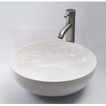 Esatto® Paquete Porcela® 09 Satin Lavabo Llave Contra Céspol