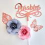Rose/ Azul Serenity e Rosa bb