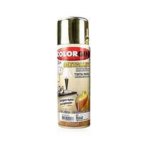 Tinta Spray Metallik Dourado 350ml - Colorgin