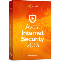 Avast Internet Security 2016 - Licença 2 Anos 1 Pc- Original