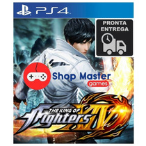 The King Of Fighters Xiv14 Ps4 Pt-br Midia Fisica P Entrega