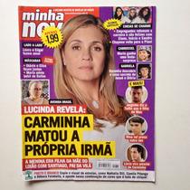 Revista Minha Novela Marjorie Estiano Fábio Nepo Miguel