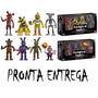 Kit 8 Bonecos Five Nights At Freddy Original Funko No Brasil