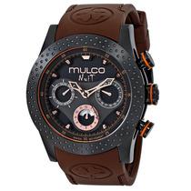 Reloj Mulco Nuit Acero Silicón Café Hombre Mw51962035